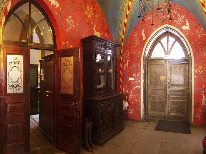 Castle foyer